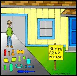 Cartoon by Linda Causey