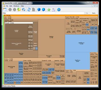 SpaceSniffer 1.1.0.0 - www.uderzo.it