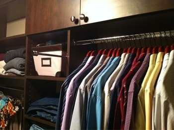 When life gives you lemons, organize your closet and install a valet hook