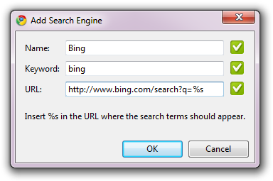 Add Search Engine