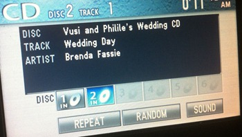 CD with CD-Text in my car