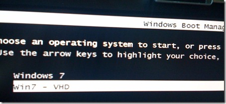 My Win 7 Boot Manager