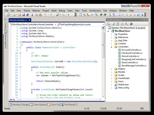 MvcMusicStore - Microsoft Visual Studio (9)