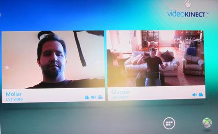 Video Kinect Call
