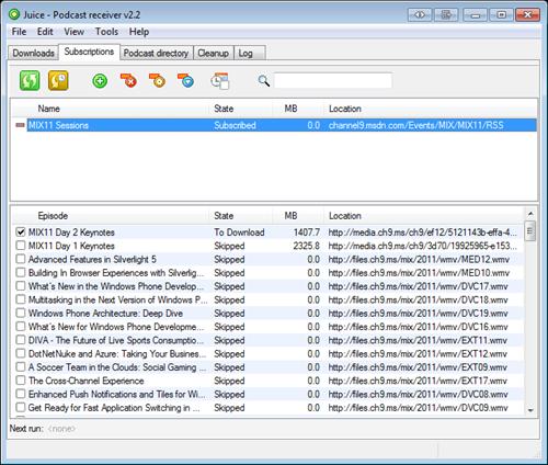 Juice Podcast Downloader