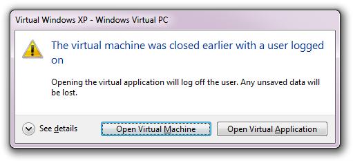 Virtual Windows XP - Windows Virtual PC (2)