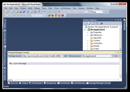MvcApplication4 - Microsoft Visual Studio (4)