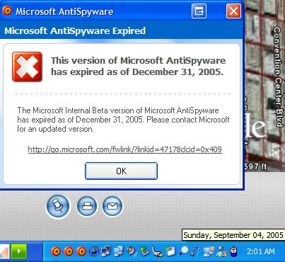Antispywareexpired