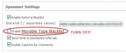 Turnoffblacklist
